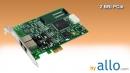ISDN BRI 2 ports PCIe