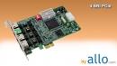 ISDN BRI 4 ports PCIe