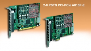 PSTN 2-8 ports PCI & PCIe