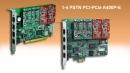 PSTN 1-4 ports PCI & PCIe
