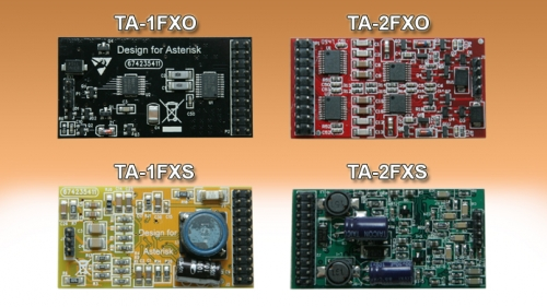 Analog Modules 1 or 2 FXO or FXS