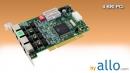 ISDN BRI 4 ports PCI