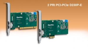 ISDN PRI 2 port PCI & PCIe