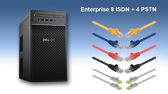 Enterprise 8 BRI + 4 PSTN