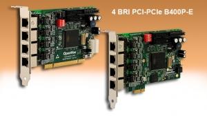 ISDN BRI 4 port PCI & PCIe